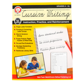 Carson-Dellosa, Cursive Writing Instruction, Practice, and Reinforcement Workbook, Grades 4-9