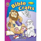 Teacher Created Resources, Bible Crafts, Reproducible Paperback, 144 Pages, Ages 5-9