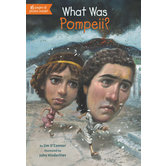 What Was Pompeii by Jim O'Connor, Fred Harper, and John Hinderliter, Paperback