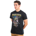 Red Letter 9, Matthew 5:9, Peacemakers Marines Short Sleeved T-Shirt, Black