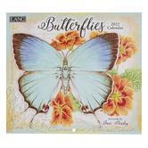 The Lang Companies, Jane Shasky Butterflies 2022 Wall Calendar, 13 1/2 x 24 inches