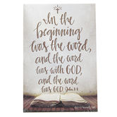 Renewing Faith, John 1:1 In The Beginning Pass Along Cards, 2 x 3 inches, Set of 10