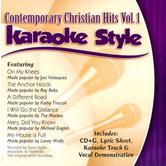 Contemporary Christian Hits Volume 1, Karaoke Style, As Made Popular by Various Artists, CD+G