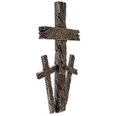 Calvary Wall Cross, Resin, 13 inches