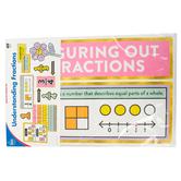 Carson-Dellosa, Easy Anchor Charts: Understanding Fractions Bulletin Board Set, Grades 1-3