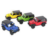 Toysmith, Jeep Wrangler Rubicon Toy, Various Colors, 5 inches