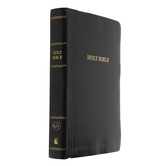 KJV Reference Bible, Personal Size, Giant Print, Imitation Leather, Multiple Colors Available