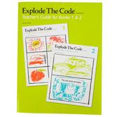 Educators Publishing Service, Explode The Code Teacher's Guide for Books 1-2, Grades 1-3