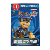 PAW Patrol, Mission PAW, Step Into Reading, Level 1, by Nate Lovett, Paperback
