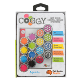Fat Brain Toys, Coggy, Ages 6 and Older, Single Player Game