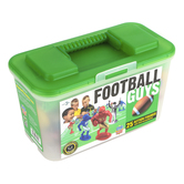 MasterPieces, Football Guys Sports Action Figure Set, 28 Pieces, Ages 3 and Older
