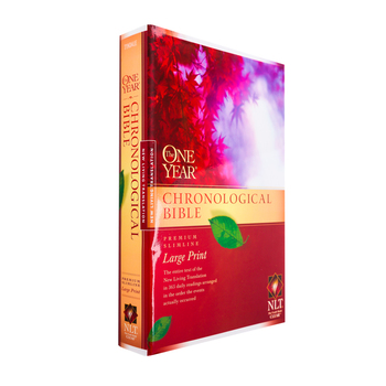 NLT One Year Chronological Bible, Large Print, Paperback