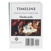 Memoria Press, Timeline Student Flashcards, 60 Pieces, Grades 3-6
