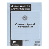 BJU Press, Heritage Studies 2 Assessments Answer Key, 4th Edition, Spiral, 10 Pages, Grade 2