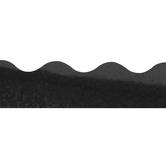 Renewing Minds, Scalloped Glimmer Border Trim, 32 Feet, Black