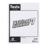 BJU Press, Writing & Grammar 7 Tests (3rd Edition)