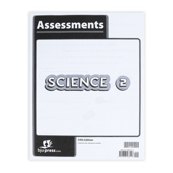 BJU Press, Science 2 Assessments, 5th Edition, Paperback, Grade 2