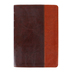 NLT Compact Bible, Large Print, Duo-Tone, Tan and Brown