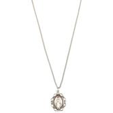 H.J. Sherman, Miraculous Medal Necklace, Sterling Silver, 18 inches
