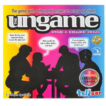 Talicor, The Ungame: Christian Version, Ages 5 and Up, 2 to 6 Players