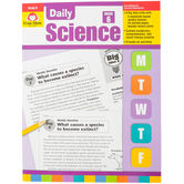 Evan-Moor, Daily Science Grade 6 Teacher's Edition, Reproducible, Paperback, 192 Pages