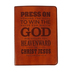 SoulScripts, Press On Ministry Appreciation Journal, Flexcover, Tan, 5 1/4 x 7 1/4 inches, 240 pages