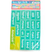 Scholastic, More Sight Words Bulletin Board Set, 121 Pieces, Grades PreK-2