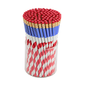Moon Creative Products, Stars and Stripes Pencil, 7 3/8 Inches, 1 Each