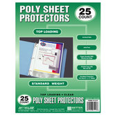 Sheet Protectors 25 Pack