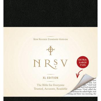 NRSV Bible XL Edition, Imitation Leather, Black
