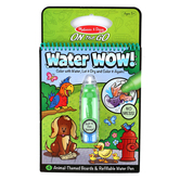Melissa & Doug, Water Wow! Animals Reveal Pad, Age 3 to 5 Years Old, 5 Pieces