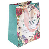 ThreeRoses, Philippians 1:3 You Are Loved Small Gift Bag, 8 1/2 x 6 1/2 x 4 inches