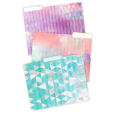 Retro Chic Collection, File Folders, 3 Assorted Designs, Multi-Colored, 12 Count