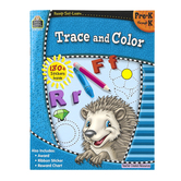 Ready-Set-Learn Activity Book: Trace and Color, 64 Pages, Grades PreK-K