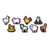 Carson Dellosa, Farm Friends Shape Stickers, 1 x 1 Inch, Multi-Colored, Pack of 120