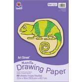 Art Street® Manila Drawing Paper, 12 x 18 inches, 50 Sheets