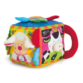 Melissa & Doug, Musical Farmyard Learning Cube, Ages 6 Months and Older, 8.5 x 8 x 7.5 Inches