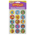 Trend, Awesome Animals Tropical Scratch 'n Sniff Stinky Stickers, Round, 60 Pieces, Ages 3 and up