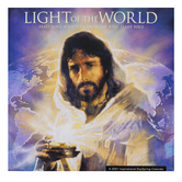 DaySpring, Light of the World 2021 Premium Wall Calendar, Linen Textured Paper, 12 x 12 inches