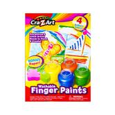 Cra-Z-Art, Washable Finger Paints Art Kit, 13 Pieces