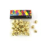 Jingle Bells Super Value Pack, 15 millimeter, Gold, Set of 50