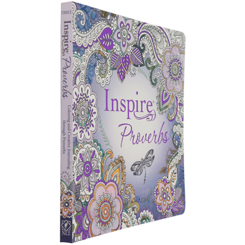 NLT Inspire: Proverbs: Color & Creative Journaling Through Proverbs, Paperback