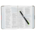 NIV Student Bible, Compact, Duo-Tone, Concrete and Fatigue Green
