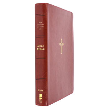 NASB 95 Thinline Bible, Giant Print, Imitation Leather, Multiple Colors Available