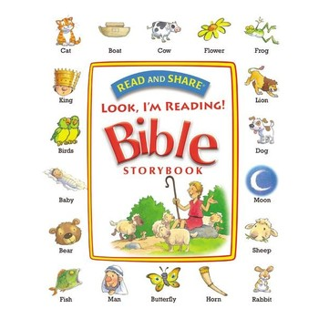 Read and Share, Look, I'm Reading! Bible Storybook, by Thomas Nelson, Hardcover