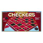 Pressman Toys, Family Classics Checkers Board Game, Ages 6 and Older, 2 Players