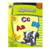 Ready-Set-Learn Activity Book: Alphabet, 64 Pages, Grades PreK-K