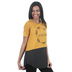 NOTW, Made to Worship, Women's Color Block Tunic Fashion Top, Mustard, X-Small