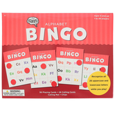 The Brainery, Alphabet Bingo, 1 to 36 Players, Ages 4 and up