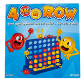 Pressman Toys, 4 In A Row Game, 48 Pieces, Ages 6 and Older, 2 Players